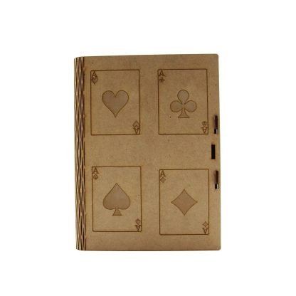 Grande boite de jeux, en bois