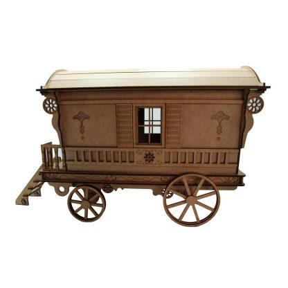 Kit roulotte en bois