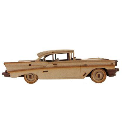 Kit voiture en bois Chevrolet Belair 1957