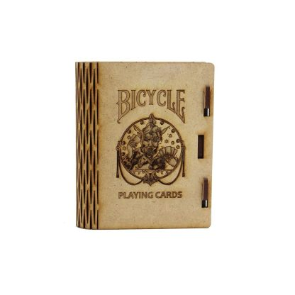 Boite de jeu gravure Bicycle