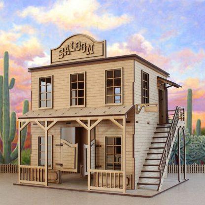 Kit Saloon miniature